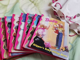 Barbie Hardcover books with backpack for Sale in Delran,  NJ