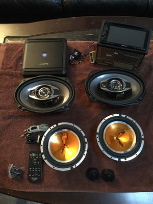 Complete Stereo Sound System w/ amp and tweeters! for Sale in Alameda, CA