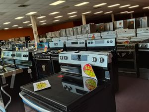Take Advantage of our $53 down financing NO CREDIT CHECK we sell open box scratch & dent NEVER USED appliances for Sale in Lauderhill, FL
