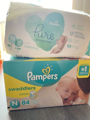 Size newborn diapers for Sale in Ontario, CA
