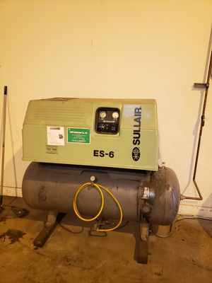 Nice Sullair ES-6 Commercial air compressor almost new for Sale in City of Industry, CA