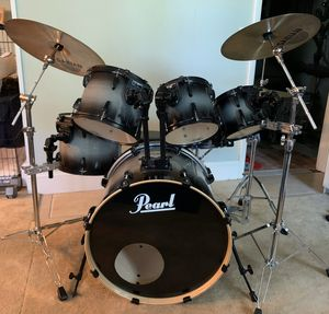 Pearl ELX Drum Set + Extras for Sale in Trumbull, CT