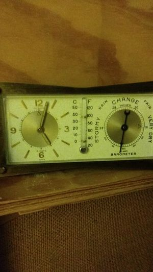 Antique clock barometer for Sale in Tempe, AZ
