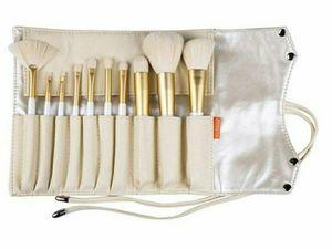 10pc Gold Makeup Brush Set for Sale in Arlington, TX
