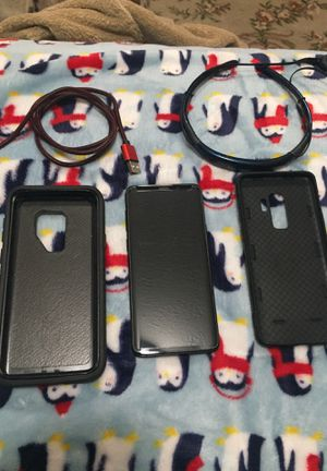 Samsung Galaxy S9+ plus extras for Sale in Manassas, VA