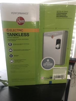 Rheem- RETEX-18 18kW Electric Tankless Water Heater 240V for Sale in Salt Lake City, UT