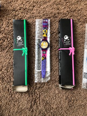 Nightmare Before Christmas watches-1990s for Sale in Moapa, NV