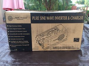 Aims 2000 w 48 v inverter charger for Sale in Costa Mesa, CA