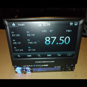 Car Stereo Din Flip Out Touch Screen 7inch Can Use Bluetooth,Usb ,Auxin,Sd Card 55$$ In Perfect Condition for Sale in El Monte, CA