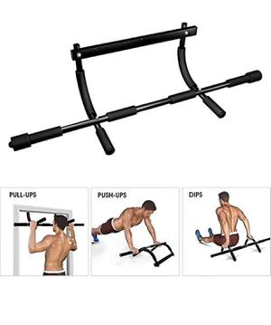 Multi-Grip Pull up bar Doorway Heavy Duty Chin up bar Trainer for Home Gym for Sale in Garden Grove, CA