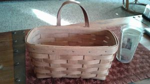 Longaberger Hanging Basket for Sale in Belleville, MI