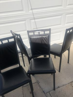 Set of four chairs for Sale in Chula Vista, CA