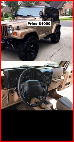 ֆ1OOO_1999 Jeep Wrengler for Sale in El Monte, CA