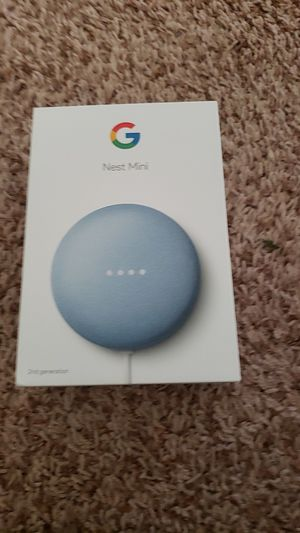 Google nest mini - brand new for Sale in Columbia, MO