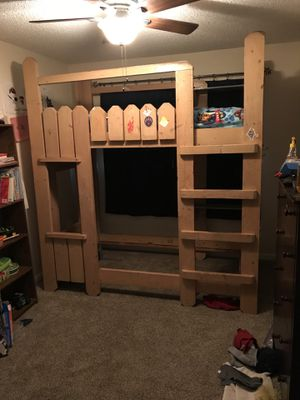 Custom made bunk bed for Sale in Clovis, CA
