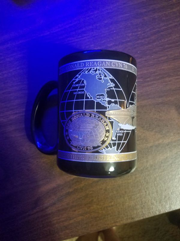 USS Ronald Reagan Commemorative Mug