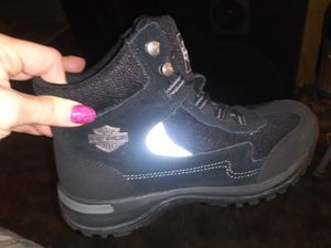 Ladies brand new Harley Davidson boots size 8 and 1/2 for Sale in Evansville, IN