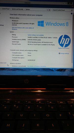 HP pavilion sleekbook 14 i5 laptop for Sale in Brockton, MA