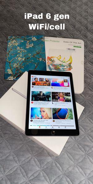 iPad 6 gen unlocked 32 gb for Sale in Fresno, CA