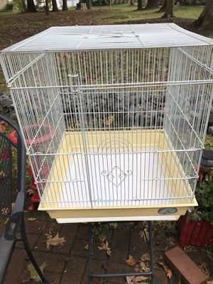 Parakeet cage for Sale in Monroe Township, NJ