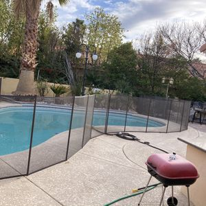 100ft Pool Fence With Gate And Keys Still As New 10 Month Old ! Moving for Sale in Las Vegas, NV