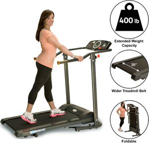 TF1000 400LB Capacity Treadmill with 2-position manual Incline for Sale in Houston, TX