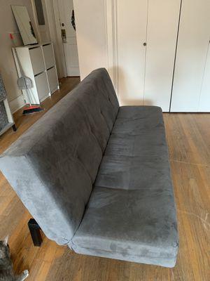 Medium-Dark Grey Futon for Sale in Seattle, WA