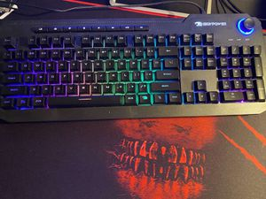 Gaming keyboard and mouse they are rgb mouse with two side buttons for Sale in Dearborn Heights, MI
