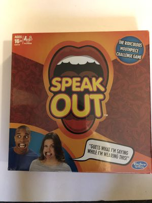 Speak Out Board Game for Sale in Madison, CT
