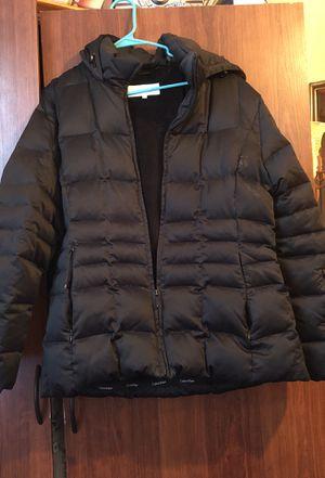Calvin Klein jacket with hoodie for Sale in Detroit, MI