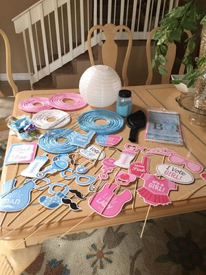 Gender reveal or Baby shower set! All you need! for Sale in Longview, TX