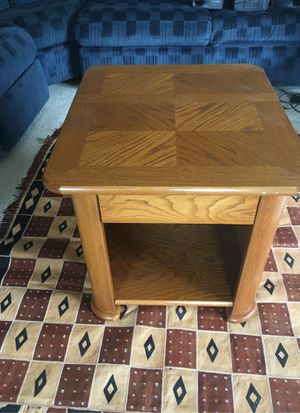 Side table with a small drawer and storage space for Sale in Nashville, TN