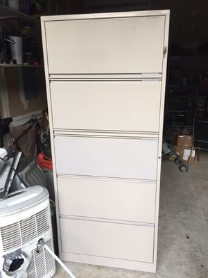 File cabinet ( metal ) 70 inches long by 30 inches wide for Sale in Alexandria, VA