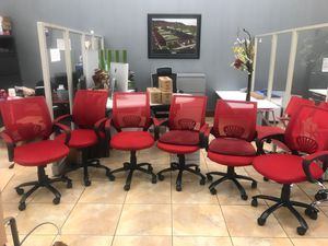 Chairs, red chairs, office chairs, office furniture & more. for Sale in Portland, OR