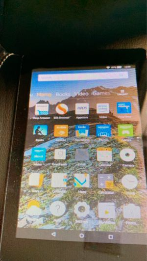 Amazon Fire 7th Gen Tablet - 7in display - Black in like new condition for Sale in Duluth, GA