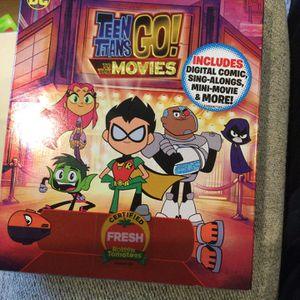 Brand New Sealed Blu-ray Plus Dvd Teen Titans Go To The Movies Dc Comics for Sale in Fort Myers, FL