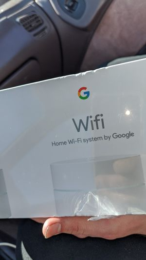 Google Wi-Fi three extender set for Sale in Fresno, CA