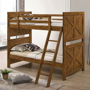 Twin / Twin bunk bed on sale @Elegant Furniture 🛋🎈🛏 for Sale in Fresno, CA