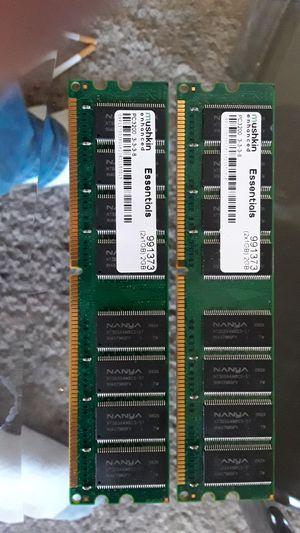 Desktop ram. Pc3200 for Sale in Nashville, IN