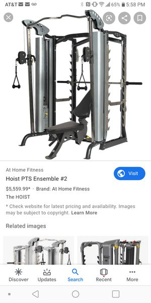 Hoist PTS home gym valued at over 5k for Sale in Tolleson, AZ