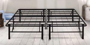 "New 14"" Platform Metal Base Foundation Bed Frame, Full for Sale in Columbia, SC"
