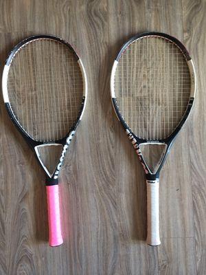 Wilson Ncode n6 Oversized 4 3/8 grip tennis rackets for Sale in Seattle, WA