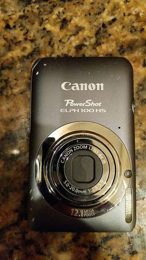 Canon PowerShot elph 100hs camera for Sale in Pompano Beach, FL