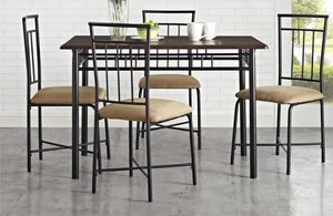 5piece dining table set for Sale in Herndon, VA