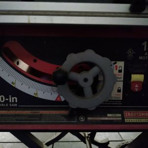 Craftsman 10in Table Saw, 15 Amp for Sale in Phoenix, AZ