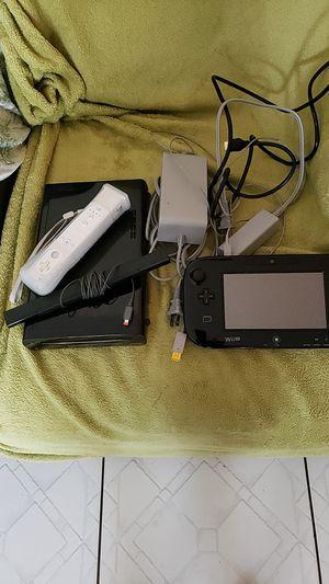 Nintendo Wii U, 32 GB compete set for Sale in Fort Lauderdale, FL