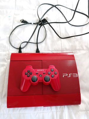 Ps3 red and all games for Sale in Las Vegas, NV