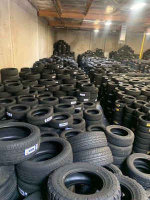 New set of tires new set of tires new set for Sale in Phoenix, AZ