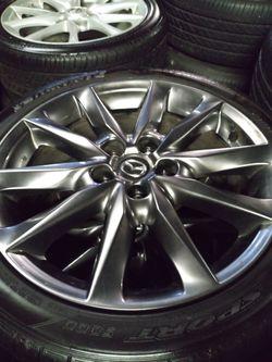 Mitsubishi Wheels Mazda rims Subaru Eclipse BRZ for Sale in West Covina,  CA