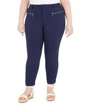Michael Kors Blue Denim Stretch Straight Leg Jeans Sz 14W for Sale in Mount Dora, FL